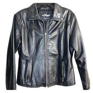 Women's Leather jacket size L